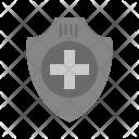 Insurance Shield Medical Icon