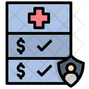 Insurance Coverage Medical Icon