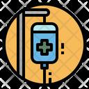 Saline Bag Patient Icon