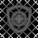 Healthcare Pharmacy Body Icon