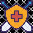 Corona Shield Shield Protections Icon