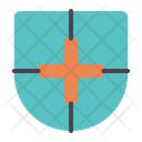 Medical Insurance Shield Clinic Icon