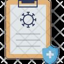 Medical Insurance Coronavirus Insurance Virus Icon