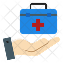 Medical Insurance Health Protection Protect Coverage Icon