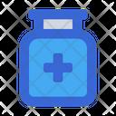 Medical Jar Drug Medicine Icon