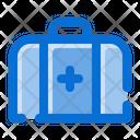 Medical Kit First Aid Kit Bag Icon