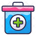 First Aid Kit Doctor Bag Medical Box Icon