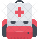Medical Backpack Firstaid Icon