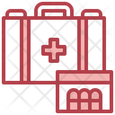 Healthcare And Medical Health Care Hospital Icon