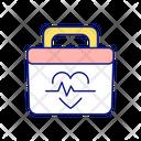 Pulse Bag Donation Icon