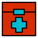 Medical Kit Items Utilities Boxes Icon