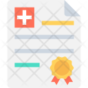 Medical License Doctor Icon
