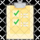Medical List Checklist Medicine Icon