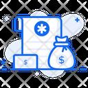 Medical Loan Medical Coverage Medical Financing Icon
