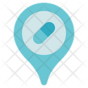 Pharmacy Location Pin Icon