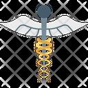 Medical Logo Medical Sign Caduceus Icon