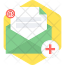Medical Mail Health Icon