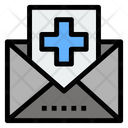 Medical Mail Hospital Report Mail Medical Reoprt Mail Icon