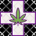Medical Marijuana Cannabis Medical Icon
