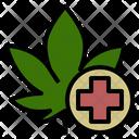 Medical Marijuana Medicine Icon