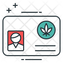 Medical Marijuana Card Id Card Card Icon