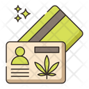 Medical Marijuana Card Icon