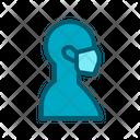 Medical Mask Flu Icon