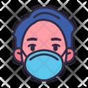 Wearing Hygienic Mask Icon