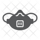 Medical Respirator Mask Icon