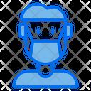Medical Mask Man Mask Icon