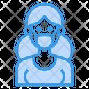 Healthcare Coronavirus Mask Icon