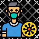 People Coronavirus Mask Icon