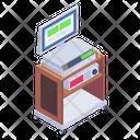 Medical Equipment Medical Monitoring Machine Medical Machine Icon