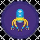 Medical Nanobot Icon