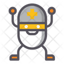 Medical Nanobot Robot Nanotechnology Icon