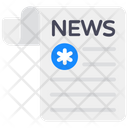 Medical News Healthcare News Newsletter Icon