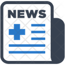 Medical News Newspaper Icon