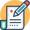 Medical paper Icon