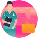 Medical Person Icon