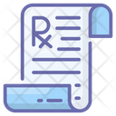 Medical Prescription Icon