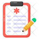 Medical Report Medical Prescription Drug Prescription Icon