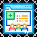 Medical Web Site Icon