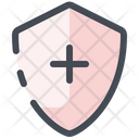 Protection Plus Shield Icon