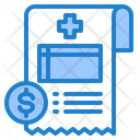 Medical Receipt Icon