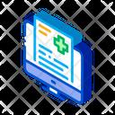 Medical Receipt Icon
