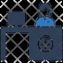 Medical Reception Icon