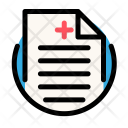 Medical recipe Icon