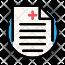 Recipe Medical Cross Icon