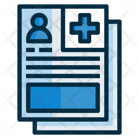 Medical Record Medical Folder Record Icon