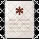 Medical Record Icon